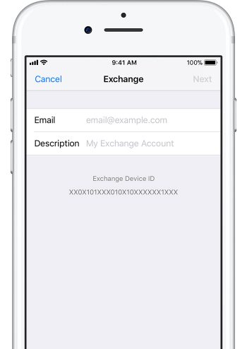 How do i set up an email account on my iphone 7